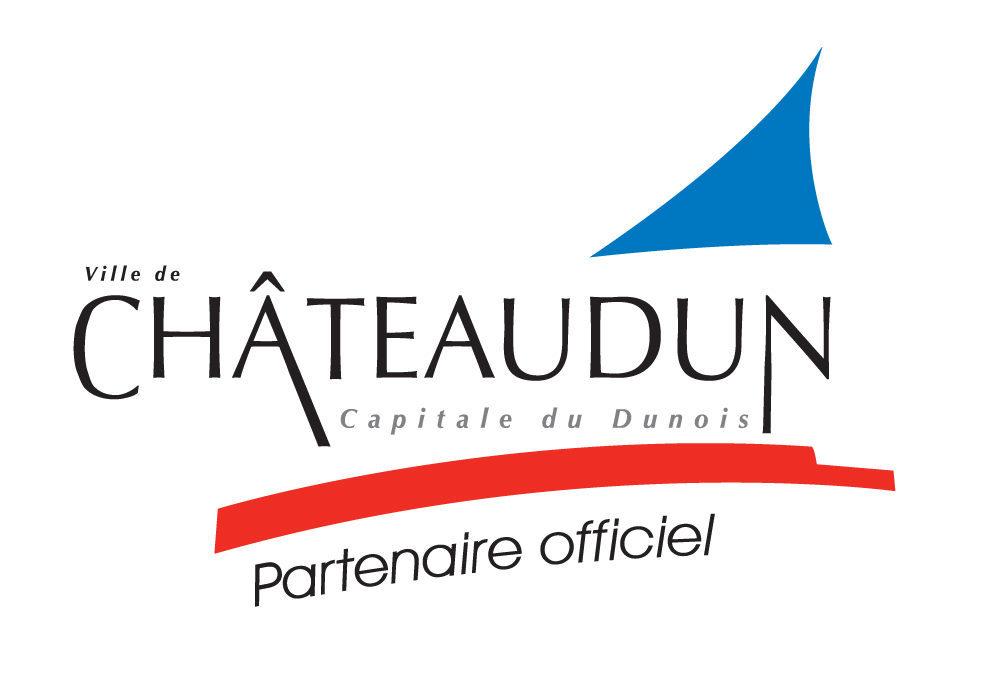 LOGO CHATEAUDUN PARTENAIRE OFFICIEL 1