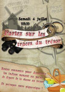 Chasse au trésor (04/07)